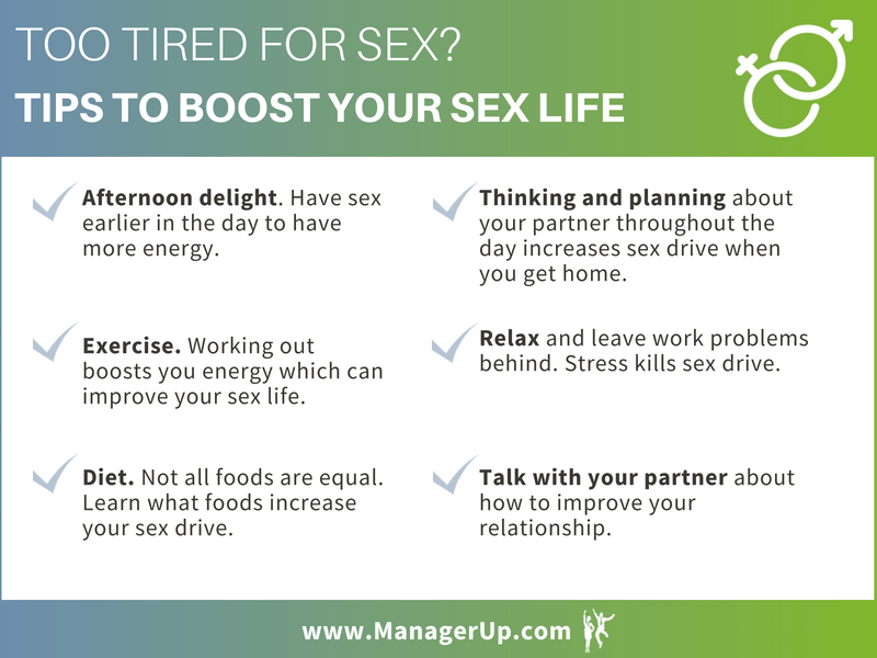 too tired for sex